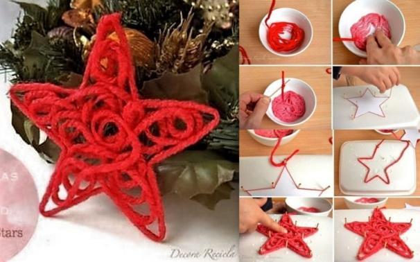 Comment faire une étoile de Noël !