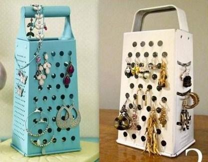 Faire un cadre présentoir à bijoux !