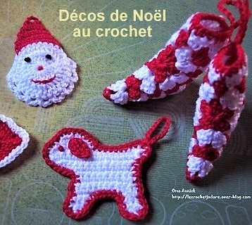 Tutos d cos de no l au crochet page 2 for Decoration de cuisine en crochet