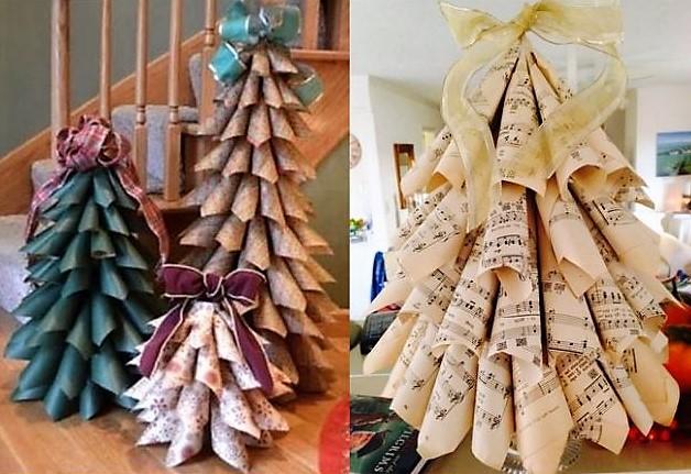 Faire un sapin de Noël en tissu, les tutos