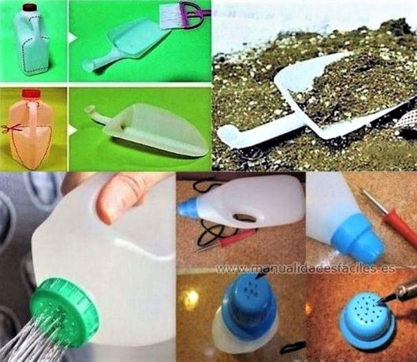 Recycler ses bidons en plastique