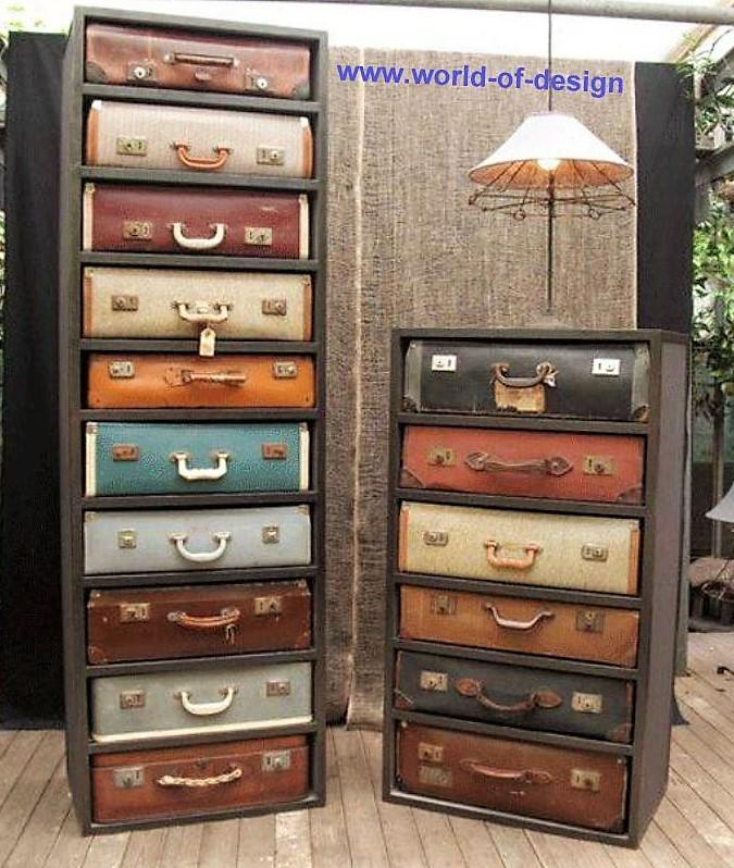 Comment recycler ses vieilles valises