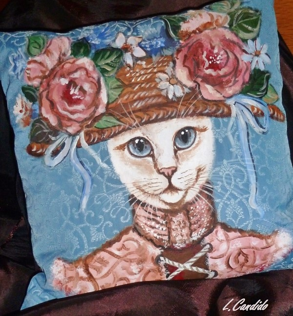 Les chats de Laurence artiste peintre animalier