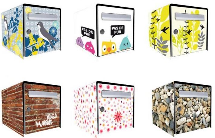customiser et embellir sa bo te aux lettres. Black Bedroom Furniture Sets. Home Design Ideas