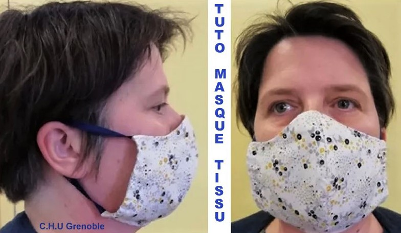 Tutoriel masque en tissu