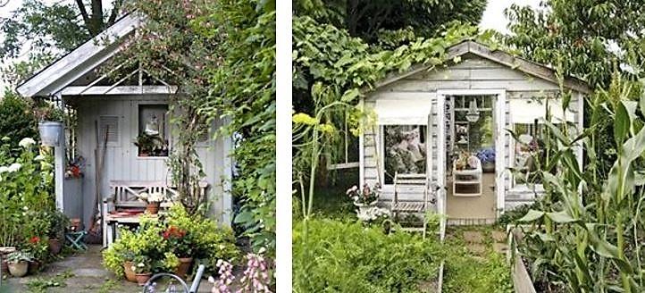 Ma cabane au fond du jardin !