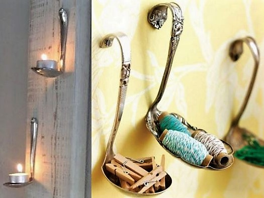 Astuces pour recycler de vieilles cuillères