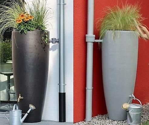 Les Bacs récupérateurs d'eaux de pluie