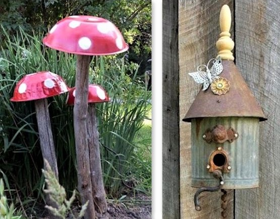 De la Récup créative au jardin !