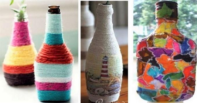 Des idées pour recycler vos bouteilles en verre