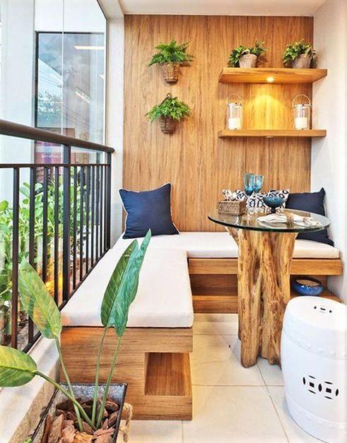 Des idées pour le balcon