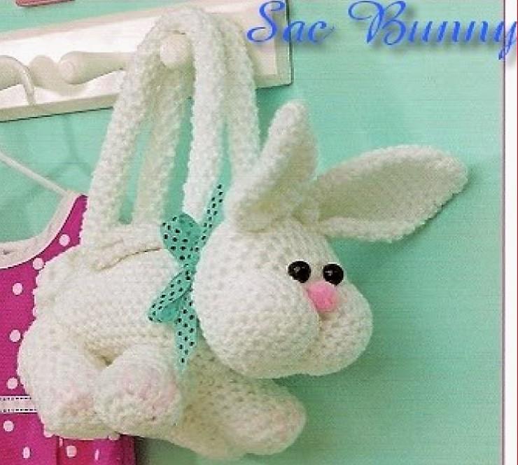 Tuto Lapin Crochet - Made By Amy | Kaninchen häkeln, Tier häkeln ... | 664x740