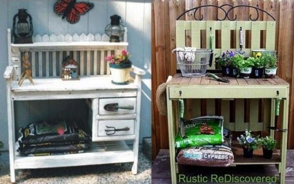 Id es pour faire une table rempoter en r cup for Quoi faire avec une palette en bois