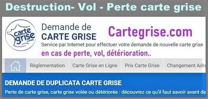 Vol de carte grise : faites appel à Cartegrise.com pour faire un duplicata