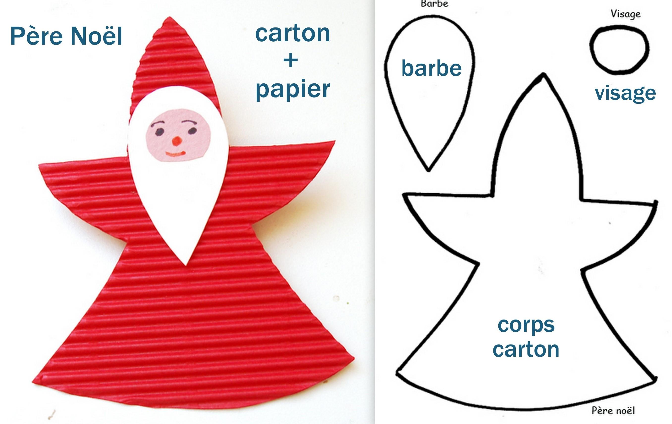 Faire des personnages de Noël avec de la récup