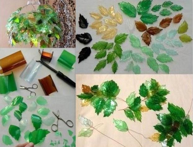 18 id es cr atives pour recycler des bouteilles plastique - Decoration de noel avec objet de recuperation ...