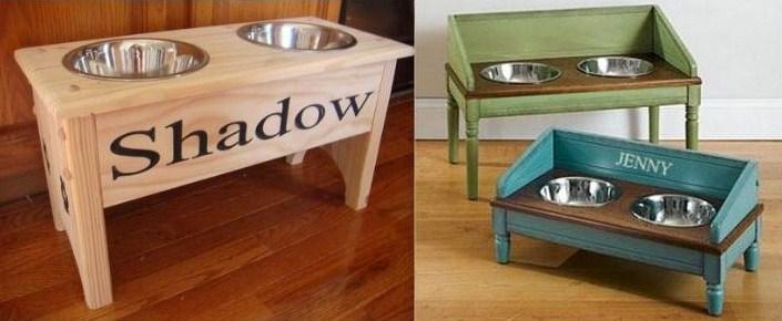 faire une mangeoire pour grand chien. Black Bedroom Furniture Sets. Home Design Ideas