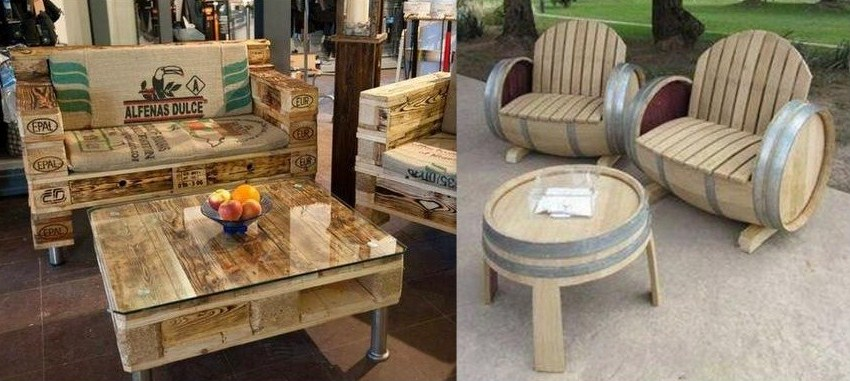 Tables basses insolites et originales - Comment transformer une palette en table basse ...