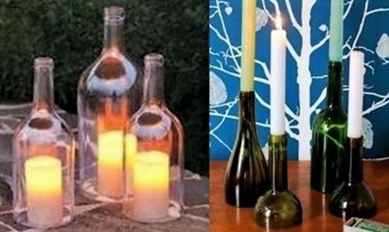 Comment couper une bouteille en verre les vid os - Comment couper du verre feuillete ...