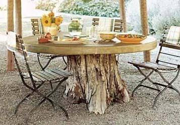 Tables De Jardin Originales Insolites Recyclées