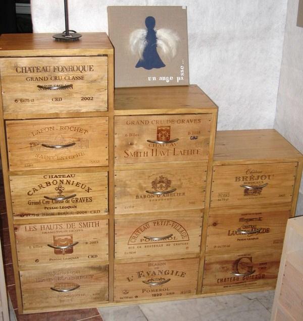 Pour Recycler Des Caisses  Vin