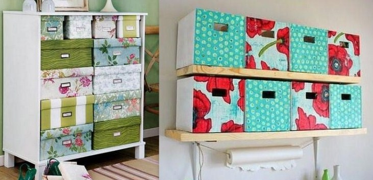 id es pour recycler vos bo tes chaussures et vos cartons. Black Bedroom Furniture Sets. Home Design Ideas