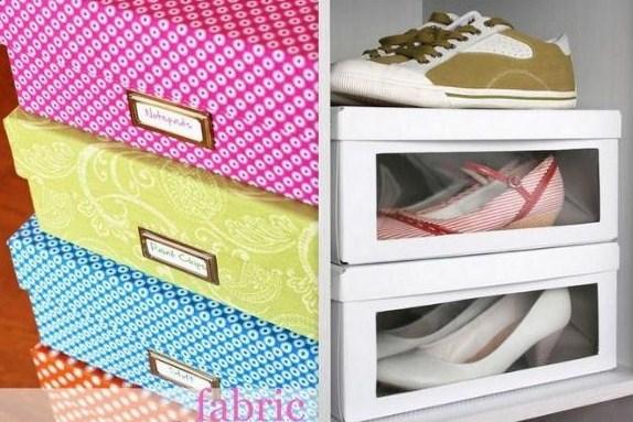 Idées pour recycler vos boîtes à chaussures et vos cartons