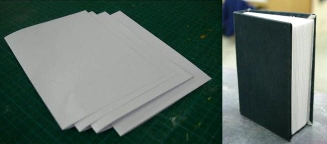 Comment fabriquer un livre les tutos fabrication - Fabriquer un serre livre ...