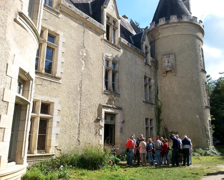 Visite et découverte du Château de Fougeret, pour les journées du patrimoine !