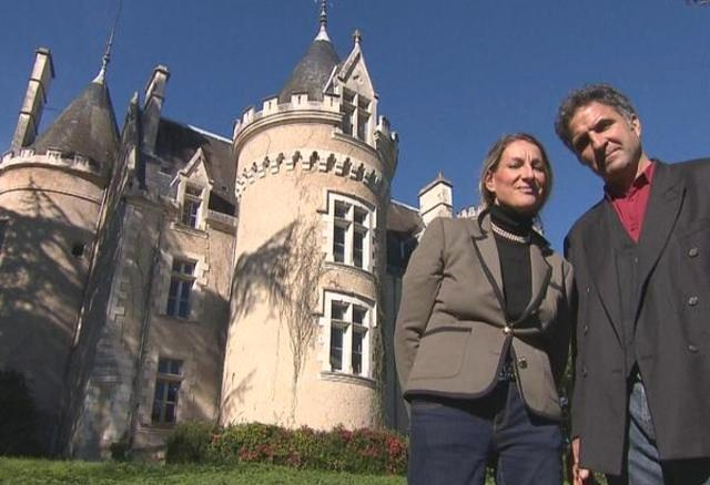 Véronique et François Joseph les propriétaires du Château de Fougeret