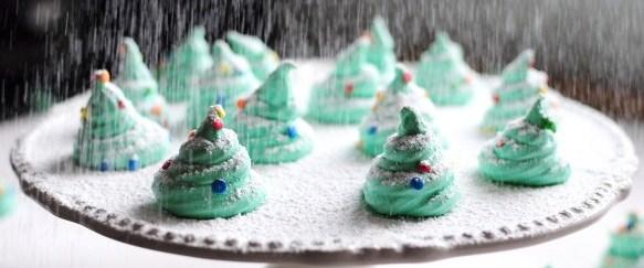 Faire des meringues de Noël