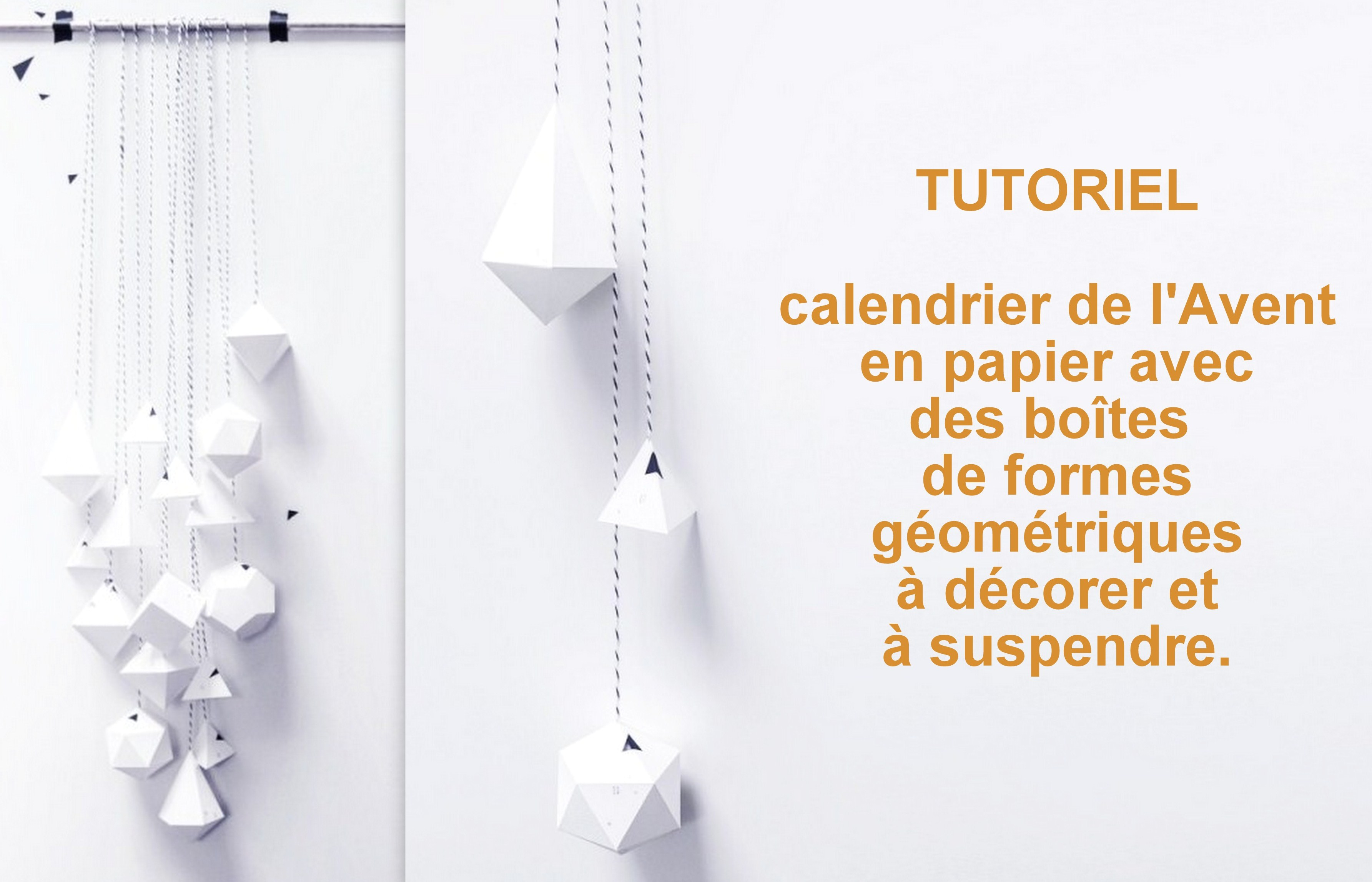 tutoriel calendrier de l 39 avent en papier. Black Bedroom Furniture Sets. Home Design Ideas