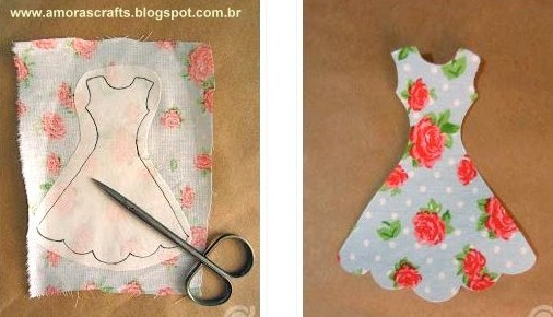 Tutoriel marque-page robe élastique