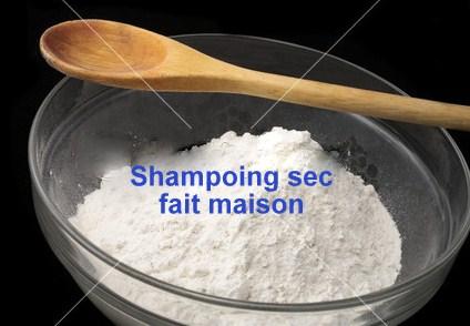 Recette faire son shampoing sec maison, efficace et économique