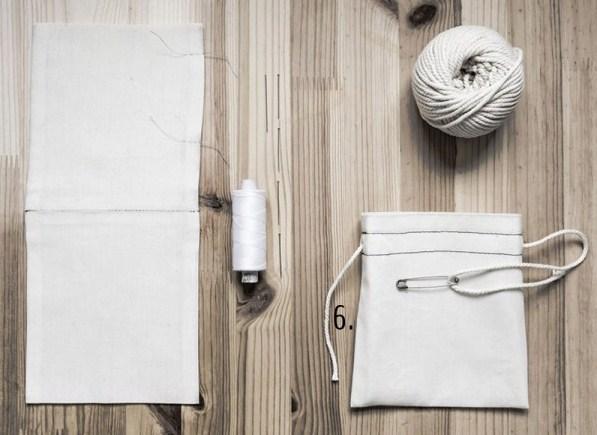 Tutoriel faire des pochettes en tissu