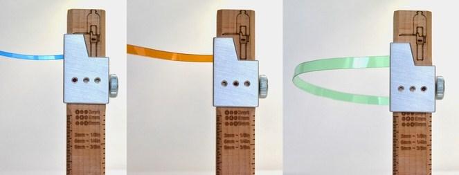 Le cutter qui transforme les bouteilles plastique en ficelle
