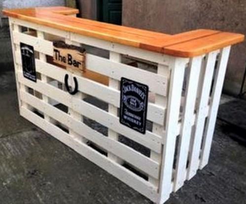 Mod les bars ext rieurs en bois de palette page 2 for Bar bois exterieur