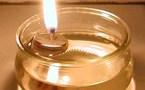 Comment faire une lampe à huile !