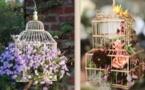 Suspensions originales au jardin !