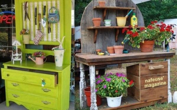 Jardin id e jardin d co jardin nafeuse 39 magazine - Amenager son jardin avec de la recup ...
