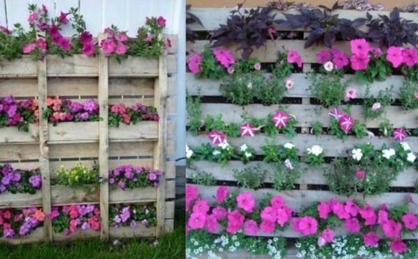 Jardin id e jardin d co jardin nafeuse 39 magazine - Deco jardin en palette nice ...