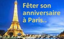 Où fêter un anniversaire à Paris