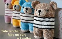 Tutoriels ours au crochet