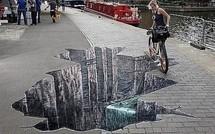 Art insolite : de magnifiques trompe-l'oeil !