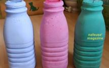 Moulages bouteilles en ciment