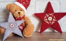 TUTO étoile de Noël en carton laine