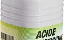 Détartrer ses WC avec de l'acide chlorhydrique !