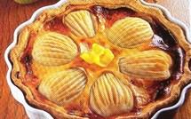 Fiche cuisine : Tarte aux poires et fromage blanc