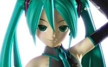Chanteuse virtuelle Miku Hatsune est une Star au Japon