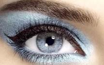 Sublimez votre regard avec les gouttes Bleues !